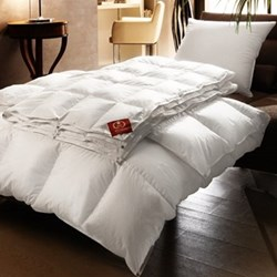 The European King size duvet 8 + 4.5 tog, 230 x 220cm, all season new white European goose down
