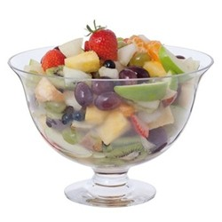 Fortuna Dessert bowl, D23cm, clear