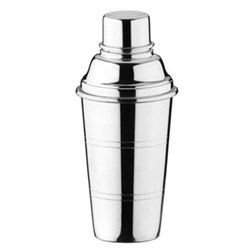 Cocktail shaker, silver plate