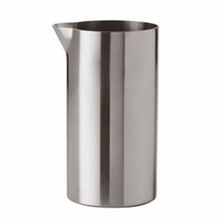 Arne Jacobsen Creamer, H9.5 x W5cm - 15cl, satin stainless steel