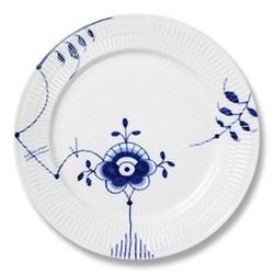 Blue Fluted Mega Dinner plate, 27cm