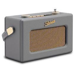 Revival Uno DAB/DAB+/FM digital radio with alarm, H14 x W21 x D9cm, dove grey