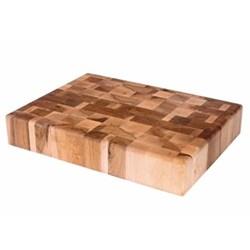 Rectangular end grain chopping block 51 x 38 x 9cm