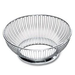Ufficio Tecnico Round wire basket, 24.5cm, stainless steel