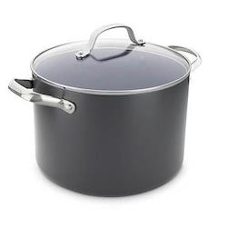 Venice Pro Stockpot with lid, 24cm - 7.6 litre, ceramic non-stick