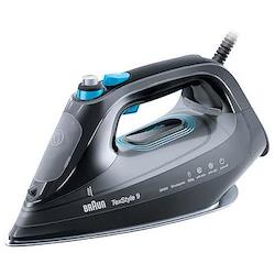 TexStyle 9 - SI9188BK Steam iron, 2.8kW, black