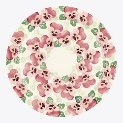 Pink Pansy Serving plate, 33.5cm