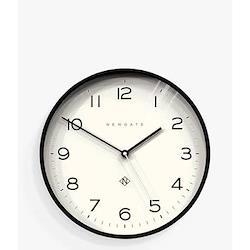 Echo Number Three Wall clock, Dia 37cm, black