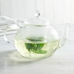 Teapot, H14 x W22cm, glass