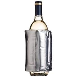 Bar Craft Wrap around wine cooler, silver colour