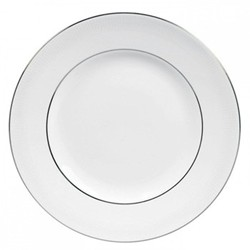 Vera Wang - Blanc sur Blanc Dessert plate, 20cm