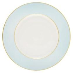 Sous le Soleil Dinner plate, 26.5cm, opal with classic matt gold band