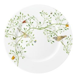 Histoire Naturelle Salad plate No.1, brown bird