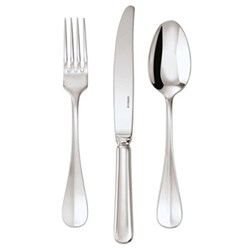 Baguette Dessert fork, stainless steel