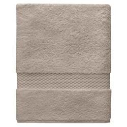Etoile Shower towel, 70 x 140cm, pierre