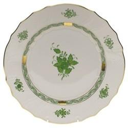 Apponyi Dinner plate, 28.5 x 2.5cm, green
