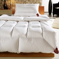 The Sapphire Super king size duvet 11 tog, 260 x 220cm, premier new white Hungarian goose down