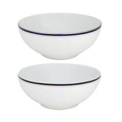 Nuit Bleue Platine Salad bowl, 23cm