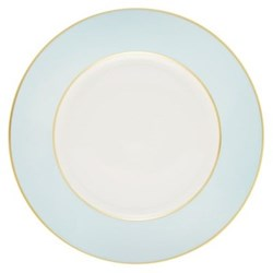 Sous le Soleil Cake plate, 18cm, opal with classic matt gold band