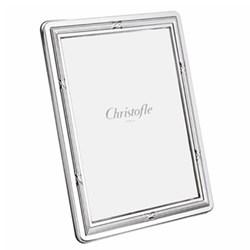 "Rubans Photograph frame, 13 x 18cm (5 x 7""), Christofle silver"