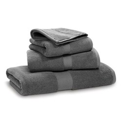 Avenue Hand towel, 50 x 100cm, charcoal