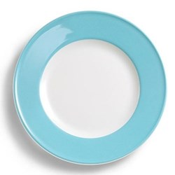 Solid Colour Dessert plate, 21cm, sky blue