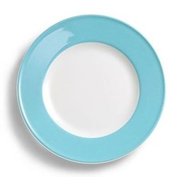 Solid Colour Side plate, 17cm, sky blue