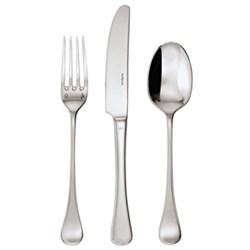 Queen Ann Dessert spoon, silver plate