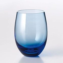 Solid Colour Tumbler, 25cl, azure