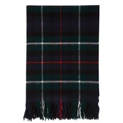 Lambswool tartan throw 190 x 140cm