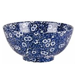 Calico Chinese bowl large, 27.5cm, blue