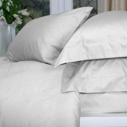 Pisa Super king size fitted sheet, 205 x 205cm, white