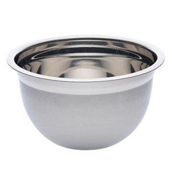 Deluxe Round bowl, 4 litre, stainless steel