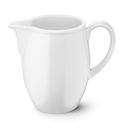 Solid Colour Jug, 1 litre, white