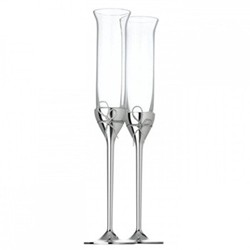 Pair of toasting flutes