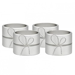 Set of 4 napkin rings