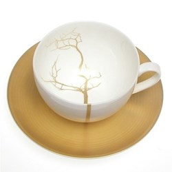 Golden Forest - Classic Teacup, 25cl, fine bone china