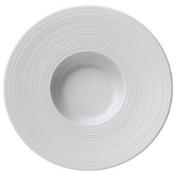 Hemisphere Rim soup plate, 26cm, white