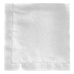 Florence Pair of napkins, 45 x 45cm, white