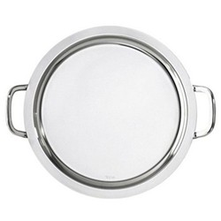 Round tray with handles 40cm