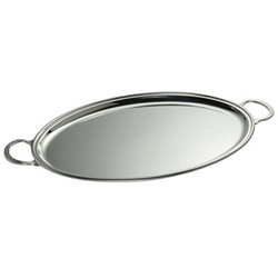 Oval tray with handles 50 x 35cm