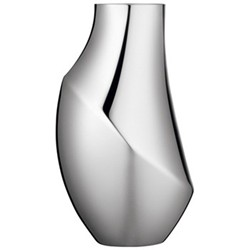 Flora Vase medium, stainless steel