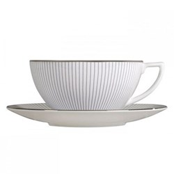Pin Stripe Tea saucer