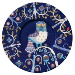 Taika Coffee/cappuccino saucer, 15cm, blue