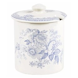 Asiatic Pheasants Jam/sugar pot, 200g, blue