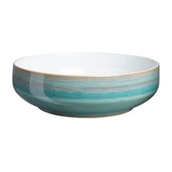 Azure Coast Serving bowl, aquamarine