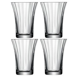 Set of 4 tumblers 34cl