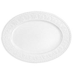 Cellini Oval platter, 40cm, porcelain