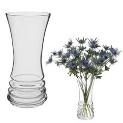 Wibble Bunch vase, H25cm, clear