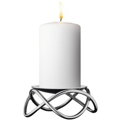 Glow Candleholder, stainless steel